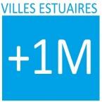 VILLES ESTUAIRES + 1M - logo